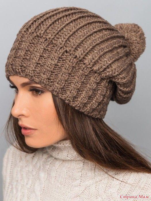 Узоры для вязание женской шапочки