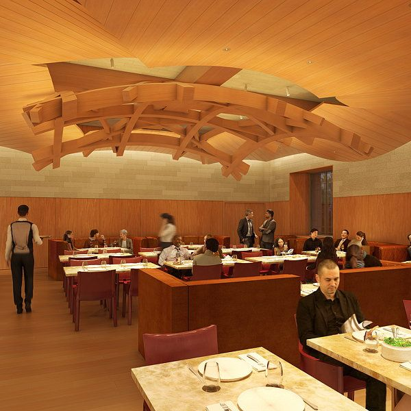 Philadelphia Museum Of Art Announces New Restaurant Stir Designed By Frank Gehry