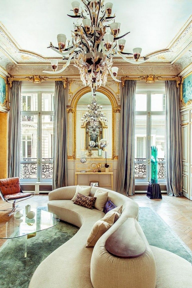 30 Marvelous Renaissance Living Room Ideas To Inspire You Livingroomfurniture Livingroom Luxury Homes Interior Parisian Apartment Interior Design Living Room
