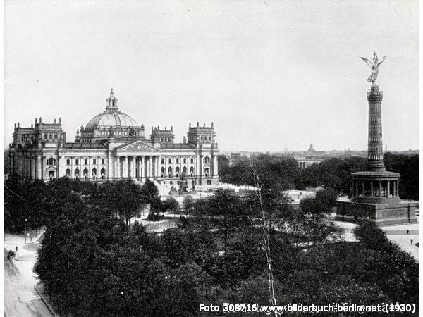 Reichstag Mit Siegessaule Siegessaule Berlin Hausbau Ideen Geschichte