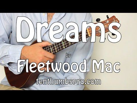 ▷ Dreams - Fleetwood Mac - Super Easy Beginner First Song Ukulele
