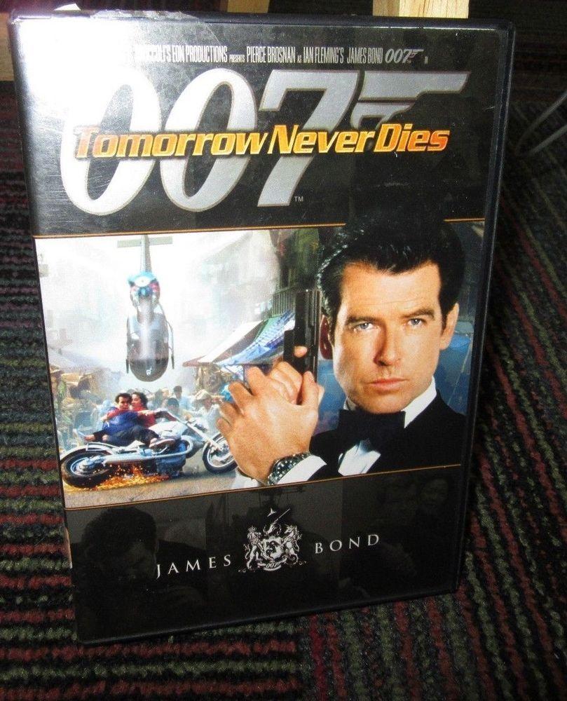 James Bond Tomorrow Never Dies 007 Dvd Movie Pierce Brosnan
