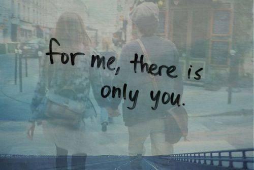 I only want you