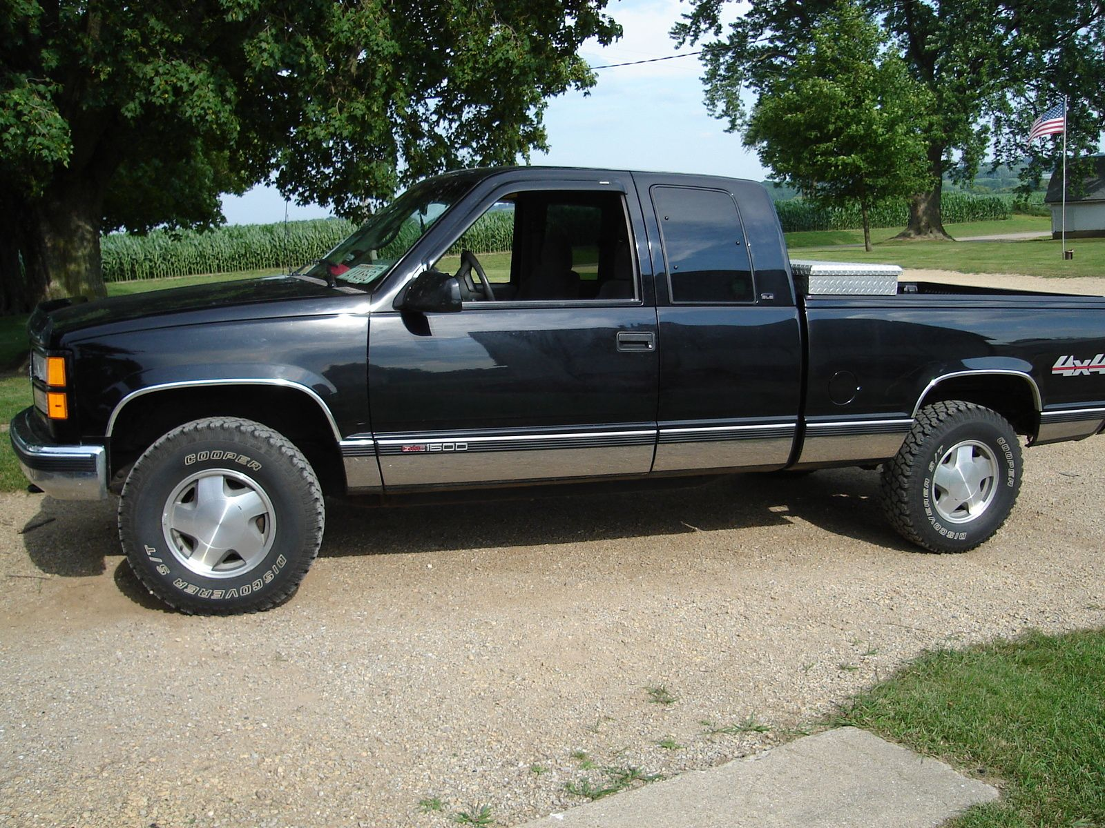 1997 Gmc Sierra 1500 2 Dr K1500 Sle 4wd Extended Cab Sb Other