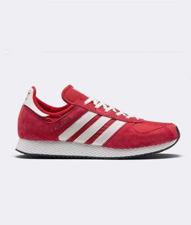 adidas originali atlanta spzl: quelle scarpe rosse: adidas x spzl