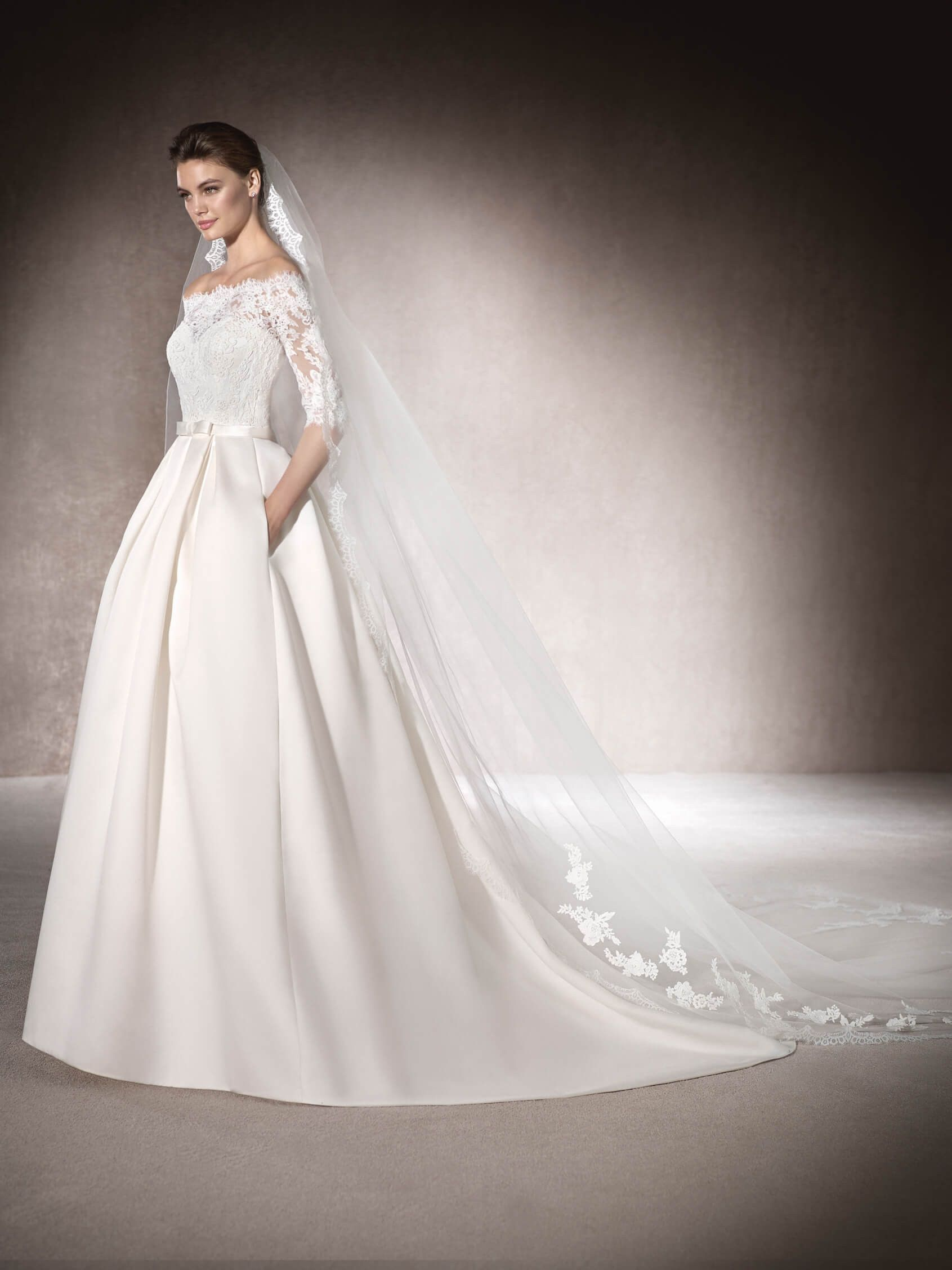 Princess wedding dress Malca | happily ever after. | Pinterest ...
