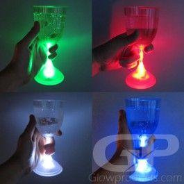 Light Up Led Wine Glasses Single Colors Light Up Glow Party Led