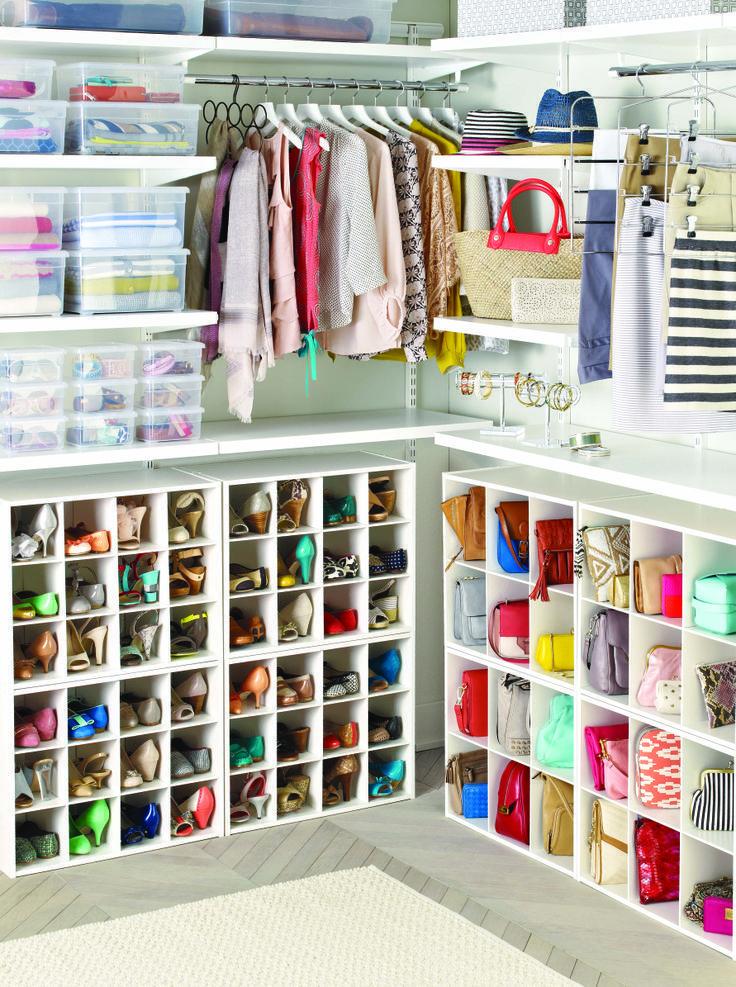 Como Organizar Carteras Y Bolsos Home Pinterest Vestidor - Como-organizar-un-vestidor