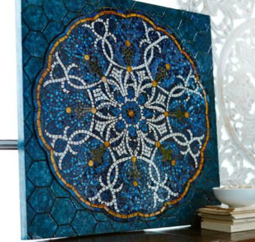 Mosaic Medallion Wall Panel This Mosaic Work Of Mosaic Medallion Headboard Art Mosaic