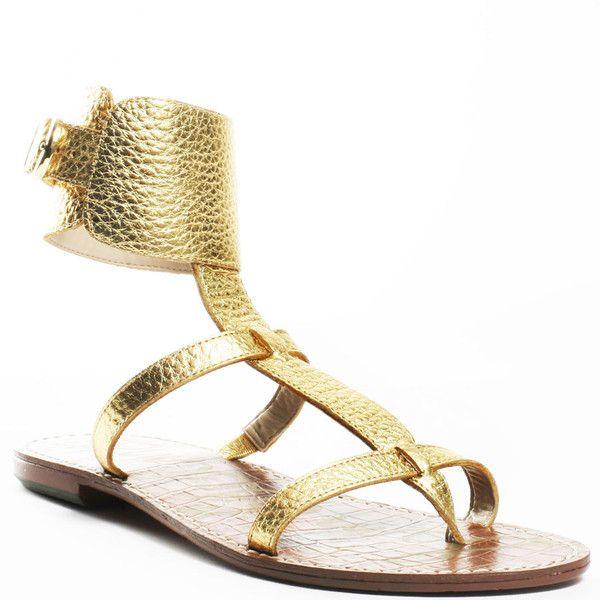 6cf604906 Sam Edelman Ginnie - Gold Grecian found on Polyvore I Love Gold