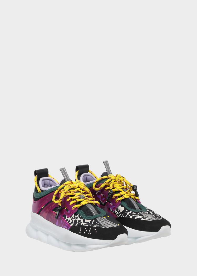 Versace Chain Reaction Sneakers - Mega