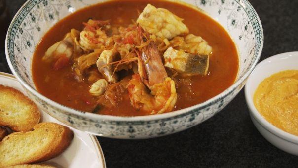 Bouillabaisse met rouille | Recept | dagelijkse kost ...