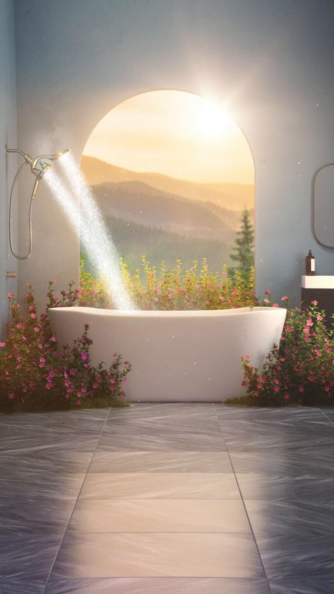 Moen® Aromatherapy Handshower with INLY™ technolog