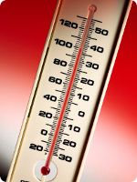 photo of thermometer