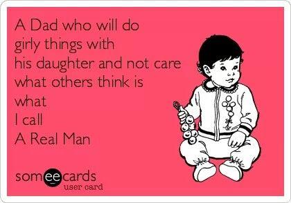 A dad ... a real man