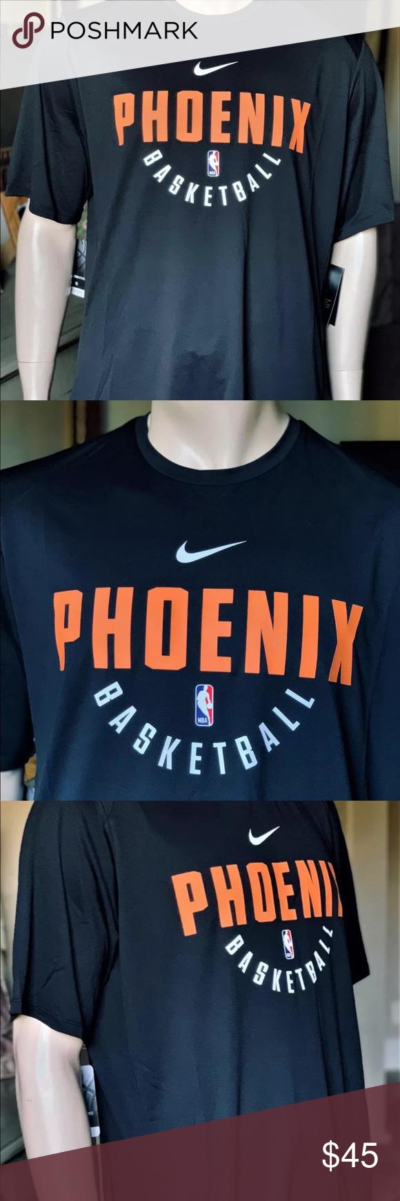 170d3d1a Men's Nike NBA Phoenix Suns Shooting Shirt NIKE NBA OFFICIAL PHOENIX SUNS  BASKETBALL PRACTICE SHOOTING SHIRT