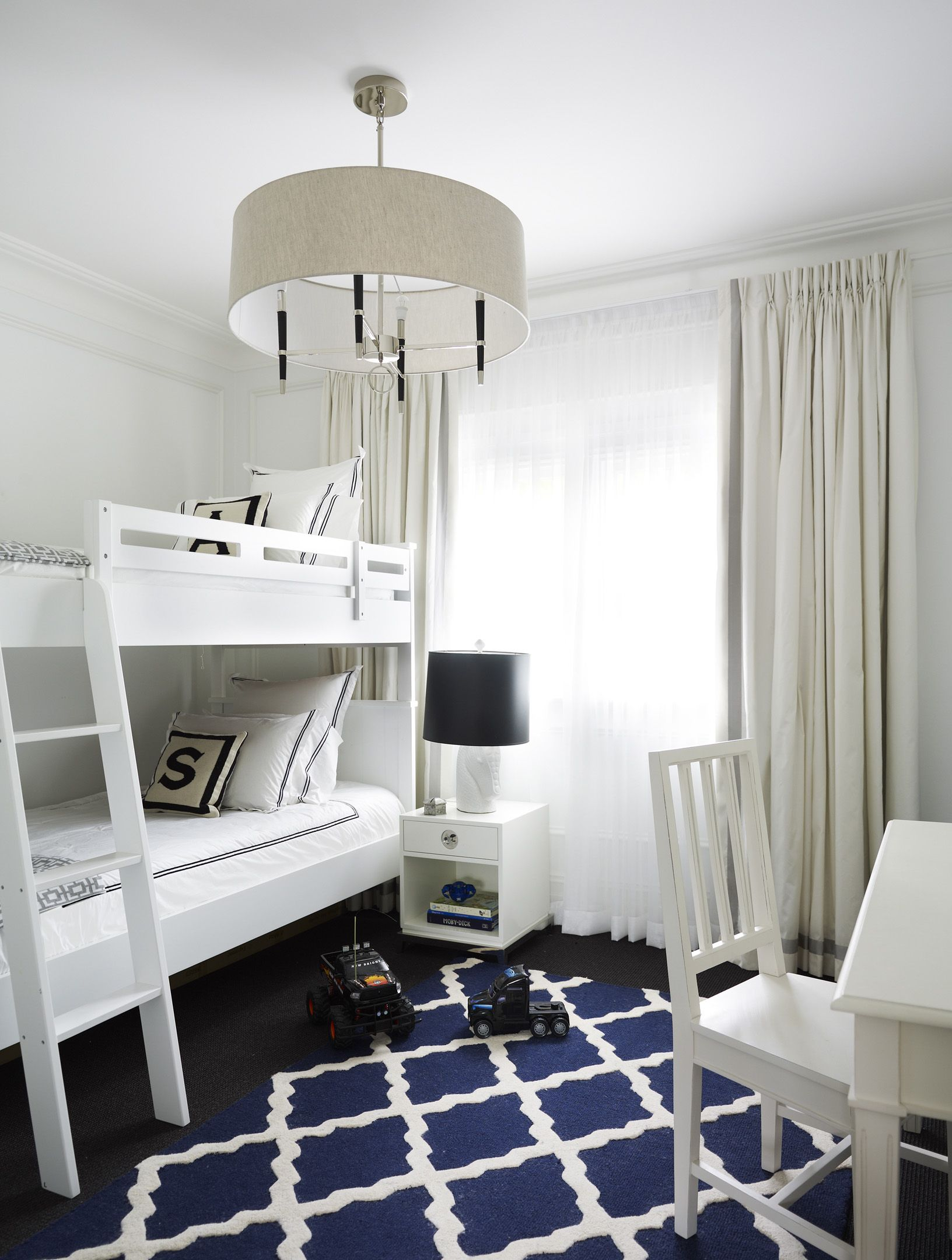 Find this Pin and more on Interior Design by Greg Natale by  BuffetsCabinets. White and blue ...