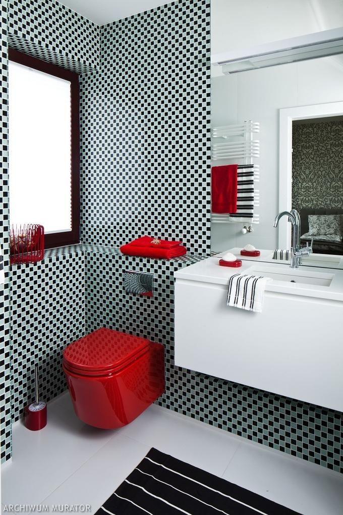 Biała łazienka Z Mozaiką Szukaj W Google łazienka
