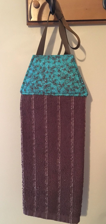 Hanging Tie Towel, Tie Towel, Tea Towel, Dish Towel, Hanging Kitchen Towel