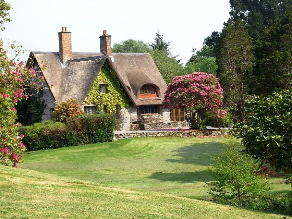 photos of cottages in ireland thatched roofed irish cottage rh pinterest com