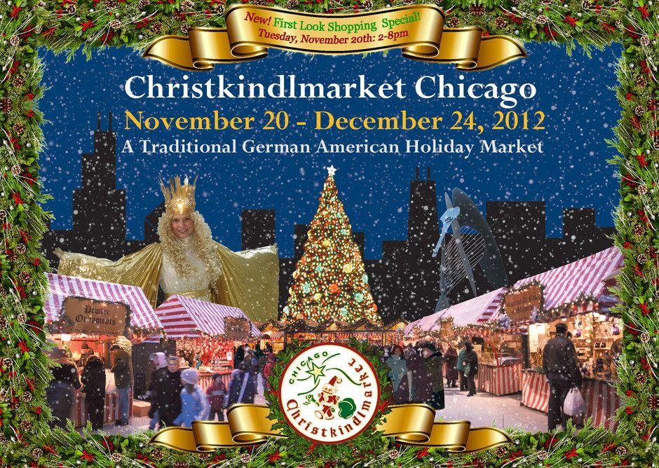 Christkindlmarket in Chicago 2012