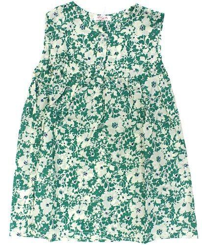 Amelia Green Floral Top