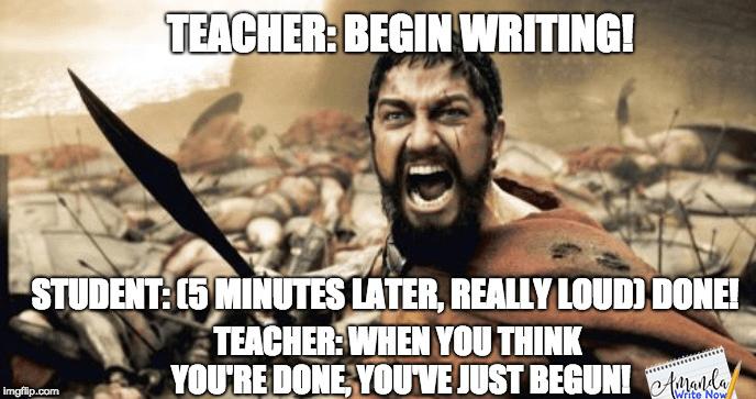 50 Best Funny Writing Teacher Memes Images In 2020 Teacher Memes