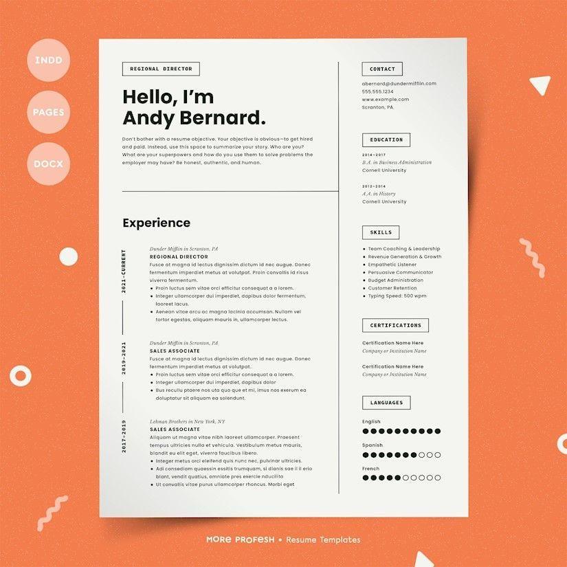 40+ beautiful free resume templates to download Resume