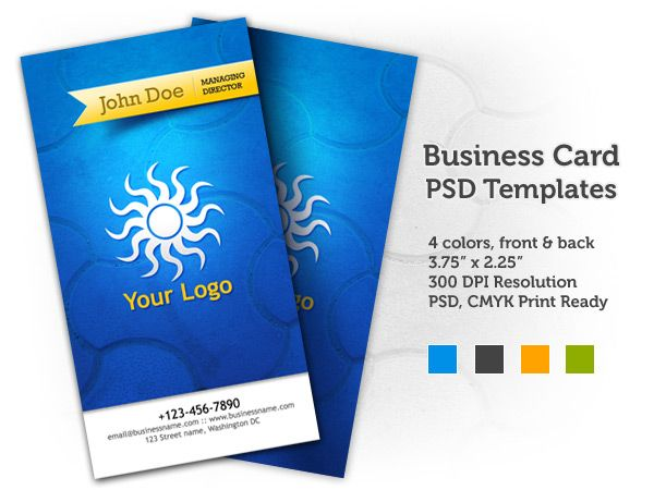 Free Business Cards Psd Template By Graphicsfuel Business Card Psd Free Business Card Templates Visiting Card Design Psd