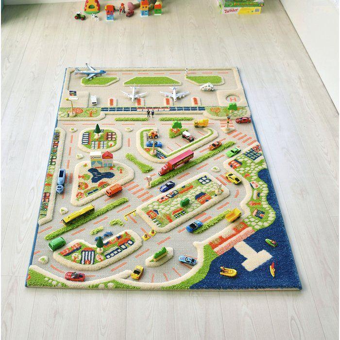 Mini City Plastic Playmat in 2020 Kids rugs, Floor mats