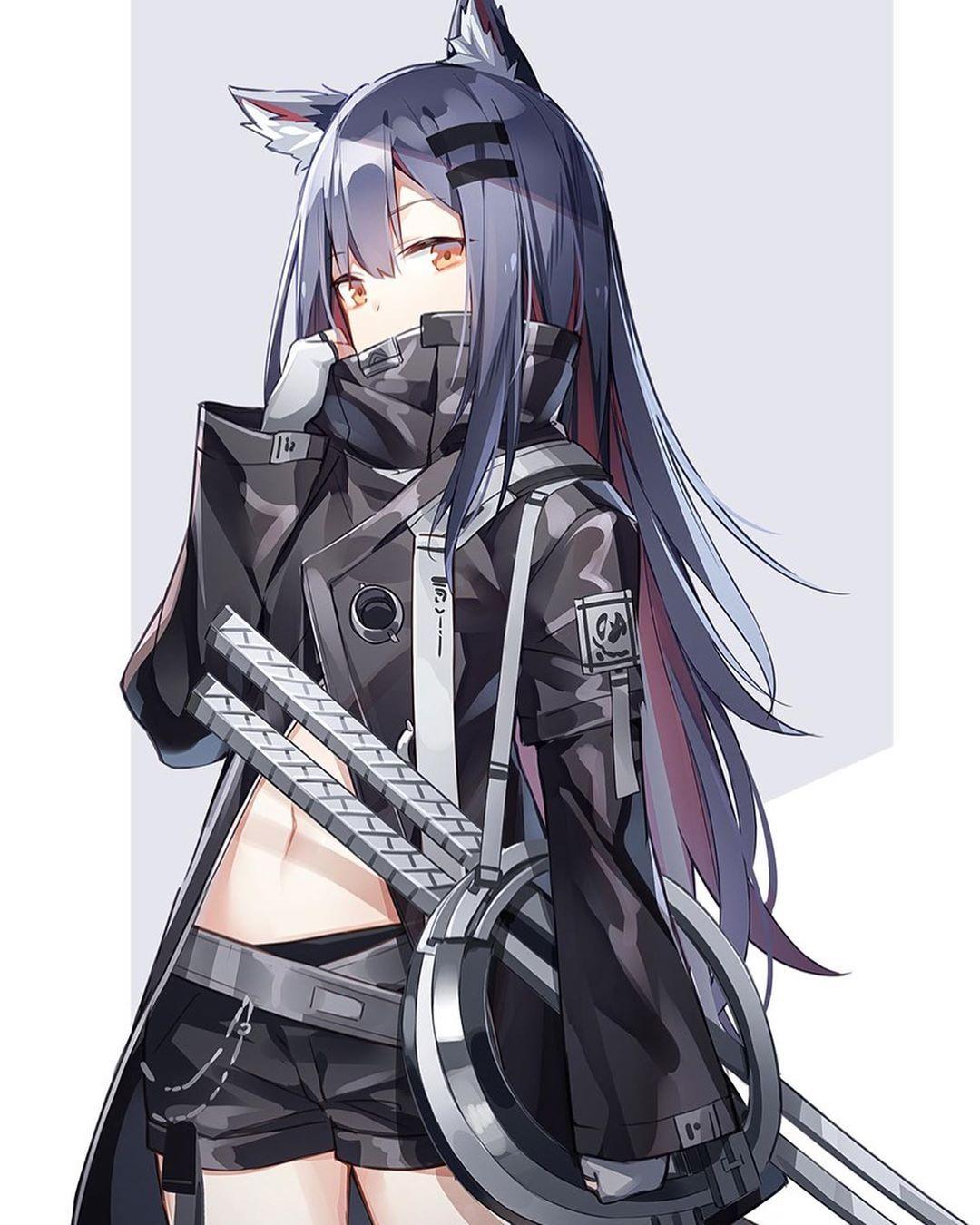 Nothing To Say Manga Girl Anime Wolf Girl Anime Warrior