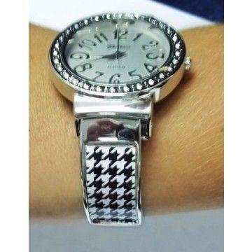 Houndstooth Cuff Watch  8e010a23d09a