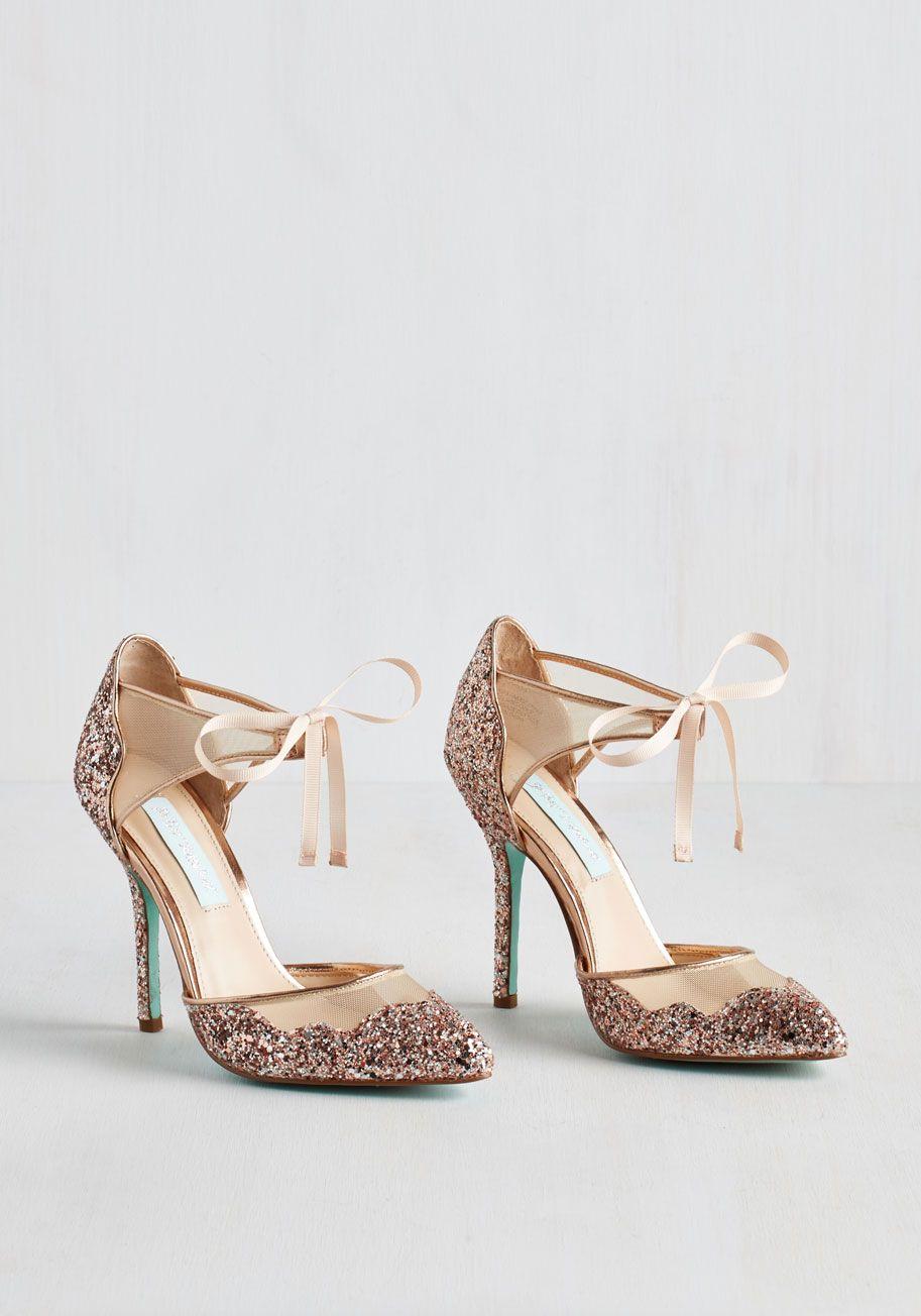Viva la Diva Heel in Blush. More power to the style maven who ...