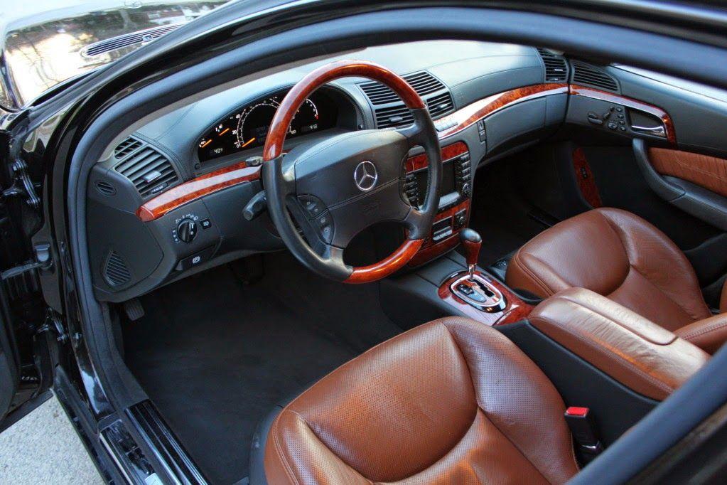 2004 Mercedes Benz W220 S500 4matic Designo Interior With Images