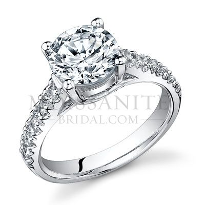 1 5 Carat Round Trellis Moissanite Engagement Ring I Would Die To Have This Gorgeous Engagement Rings Rings Anniversary Rings