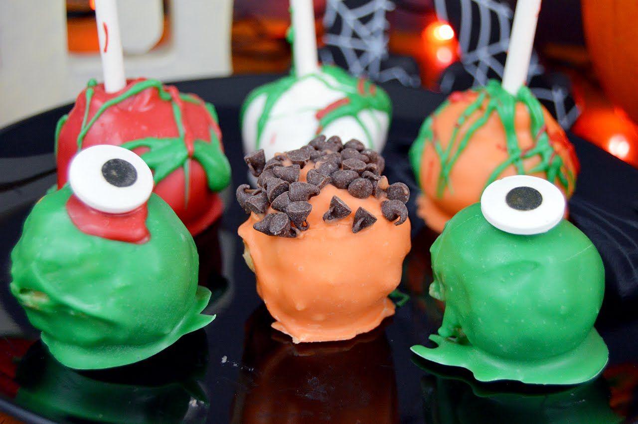 No Bake Oreo Cake Pops | Halloween Treats | The Starving Chef