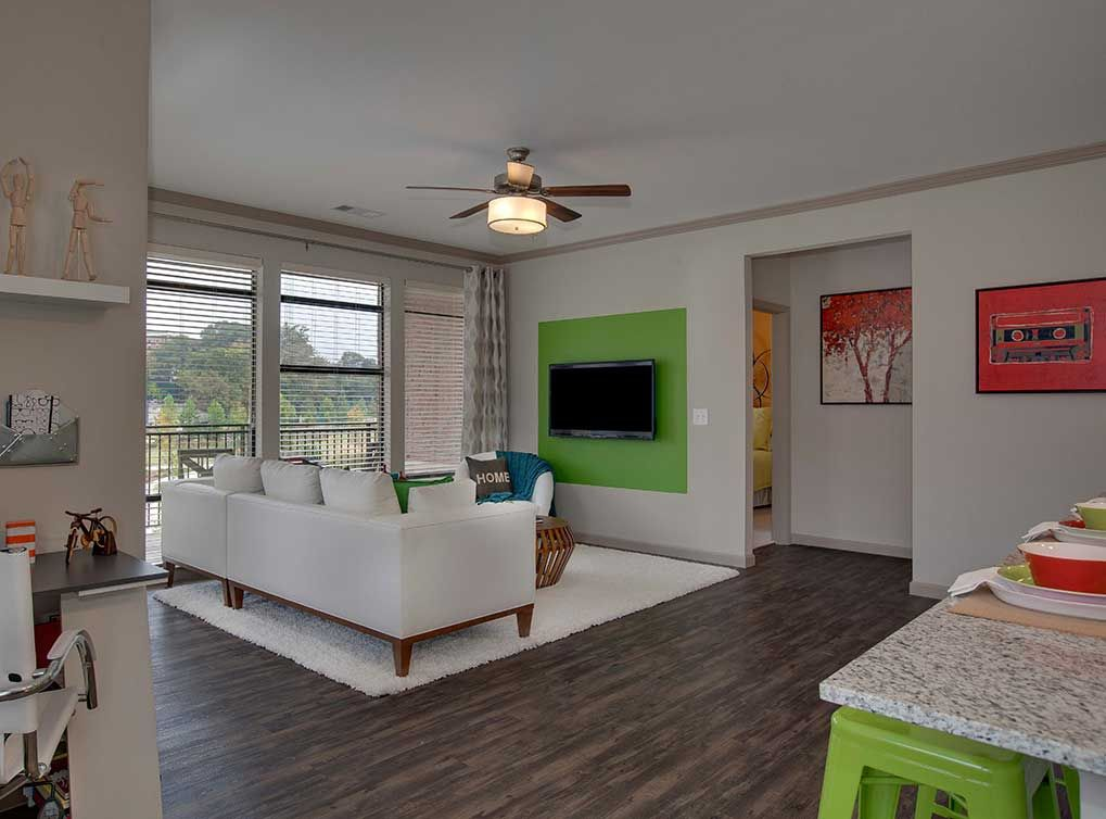 Hard Wood, Plank Flooring Will Come Standard In All Apartments, At AMLI  Ponce Park