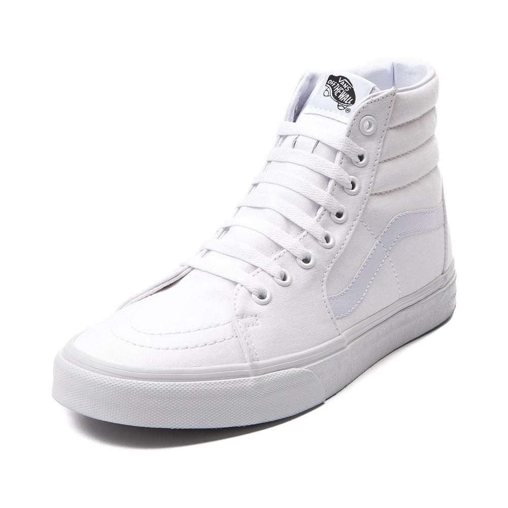 vans high tops mens white