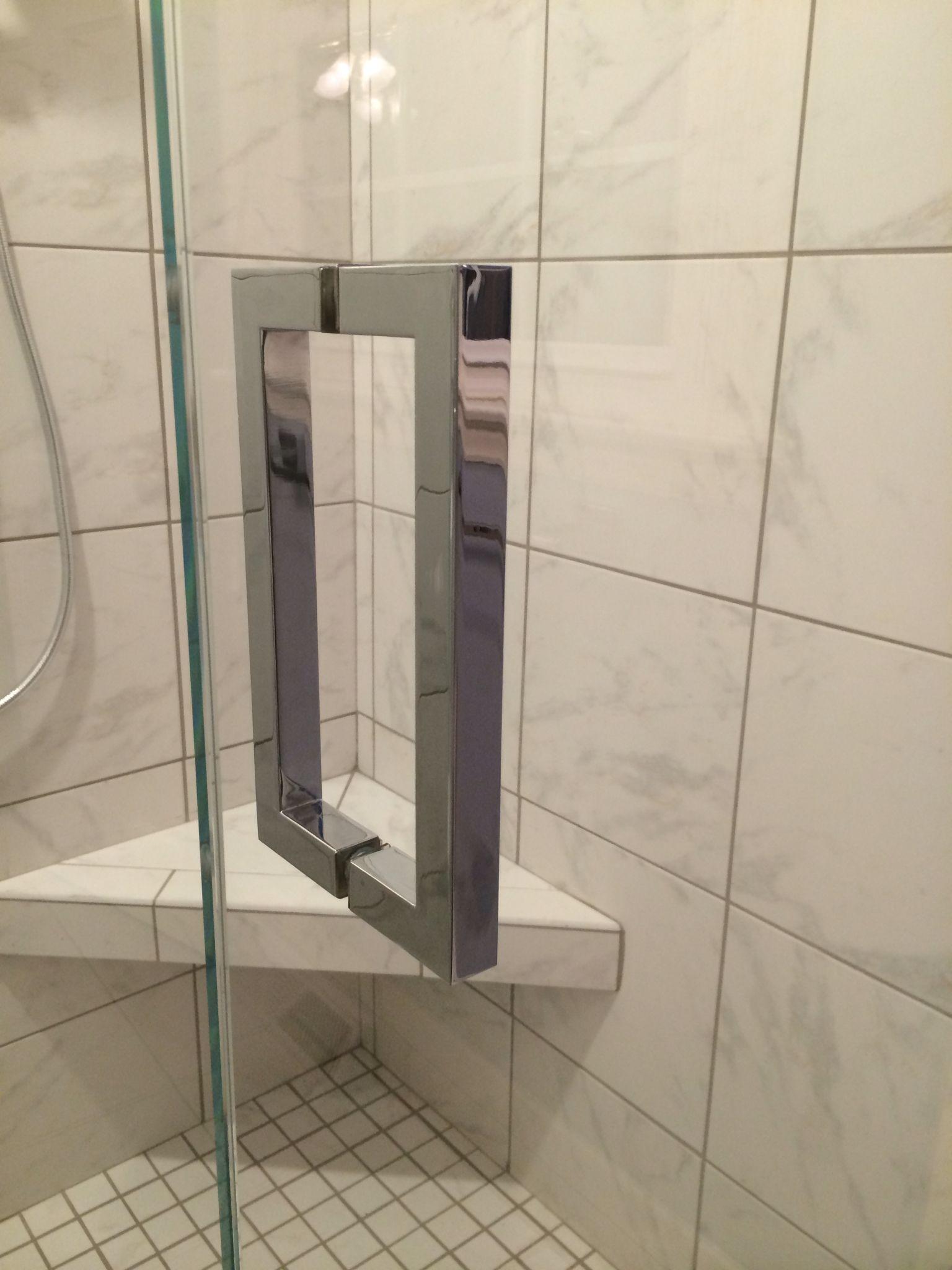 8 Square Handle Shower Door Handles Pinterest Shower Door