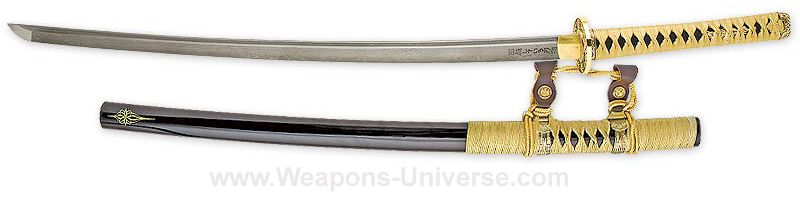 Detail shot of UCBlack's Kogane Jintachi