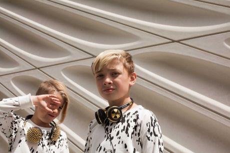 Thewolfpack meet LA kids fashion blogger Wynn for popstreetkidz.com | River Bennett