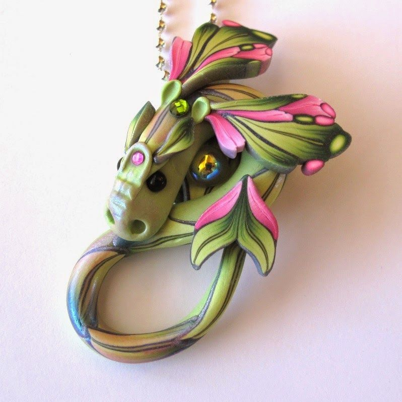 Clayworks by Kim Detmers: Dragons...polymer clay