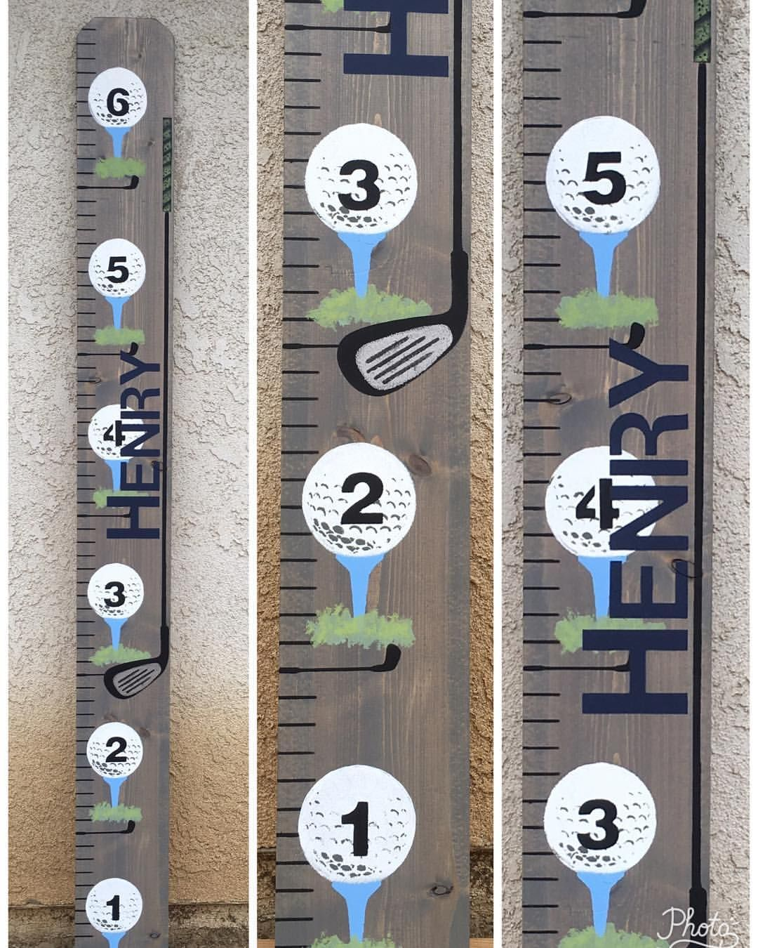 Golf custom personalized growth chart measure kids heights golf custom personalized growth chart measure kids heights interior design kids decor baby gift geenschuldenfo Choice Image