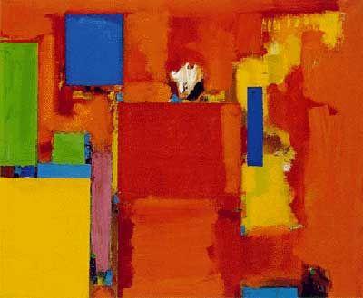 The Golden Wall Hans Hofmann Art Reproduction Galerie Dada
