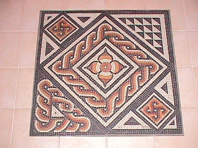 Roman mosaics patterns for kids for Easy mosaic designs