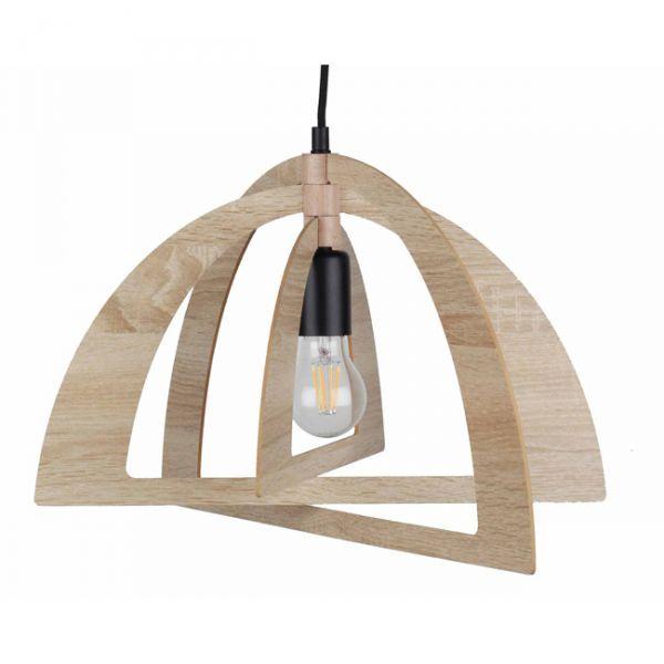 Lustre bois cuisine design clairière 11990€
