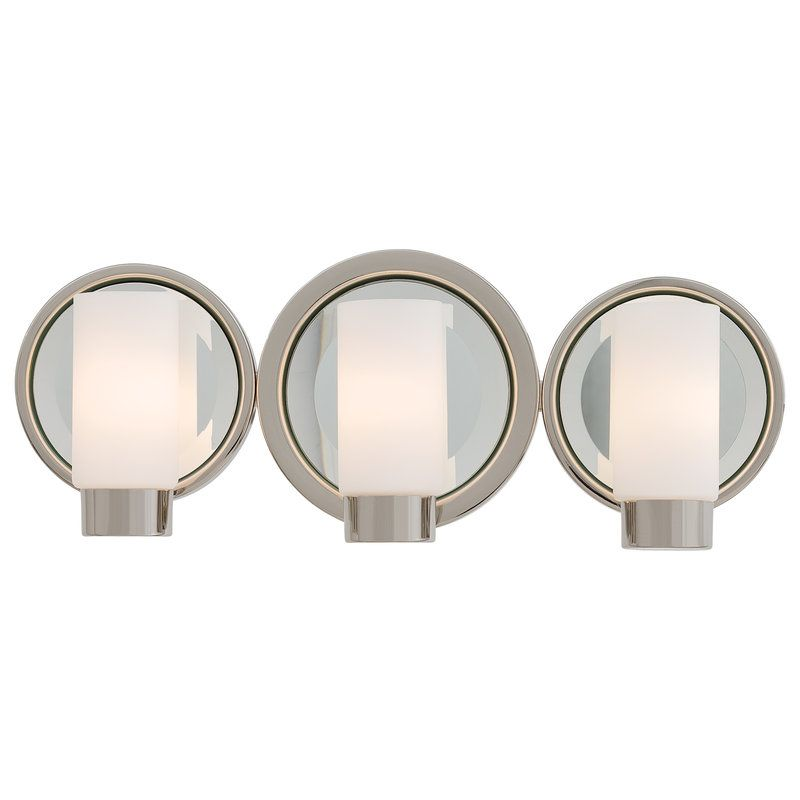 """View the Kovacs P5863 3 Light 18.75"""" Bathroom Vanity Light from the Next Port Collection at LightingDirect.com."""