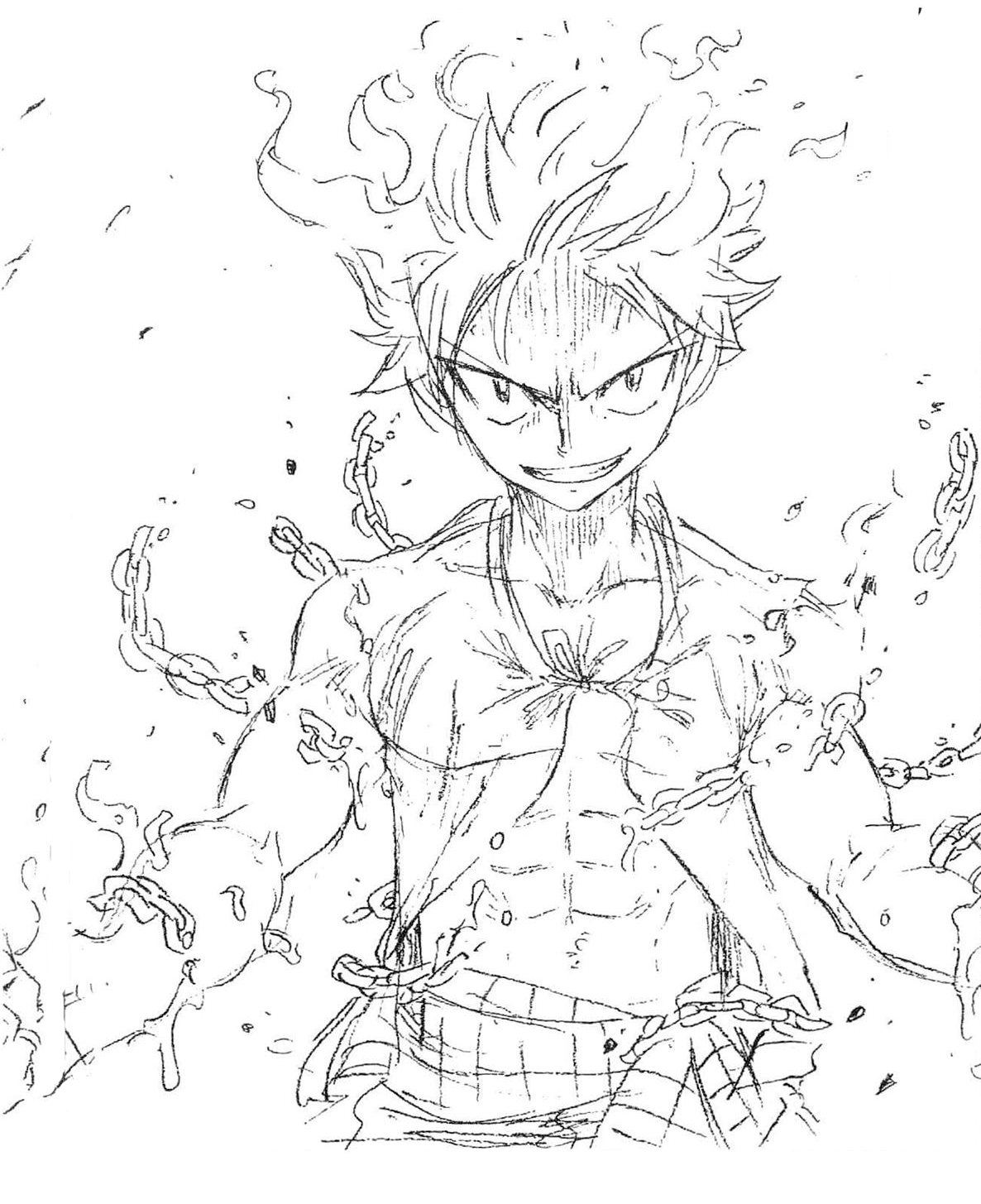 Natsu Dragneel Fairy Tail Anime Fairy Tail Drawing
