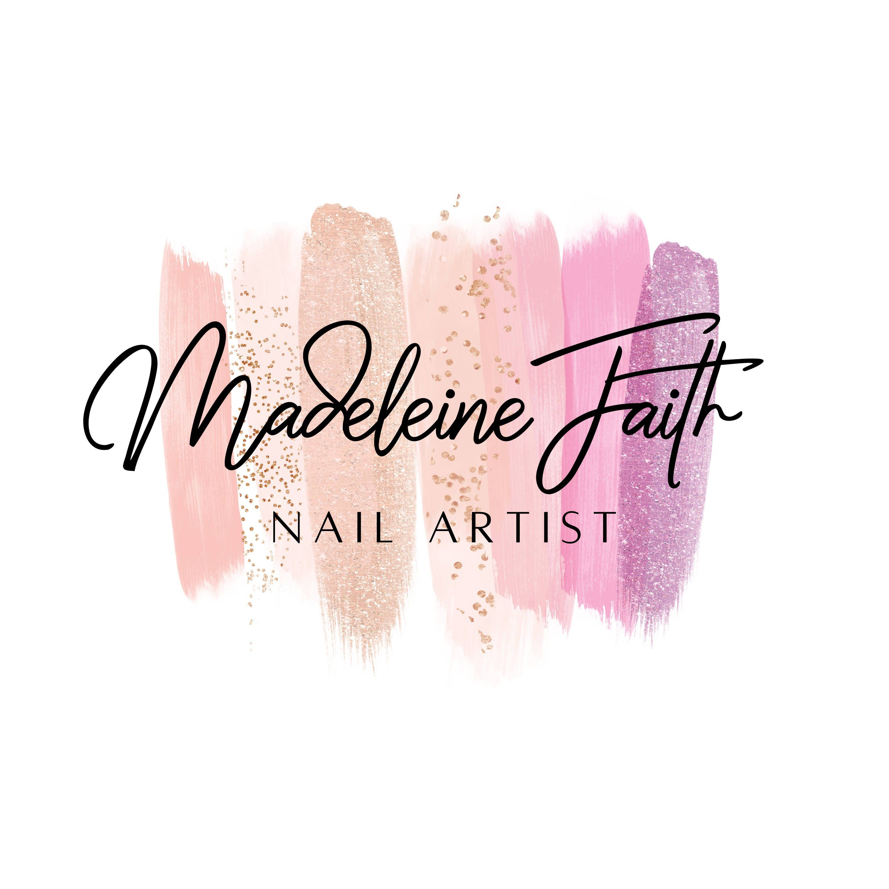 Nail Artist Beauty Makeup Logo Design, Nail Salon Logo