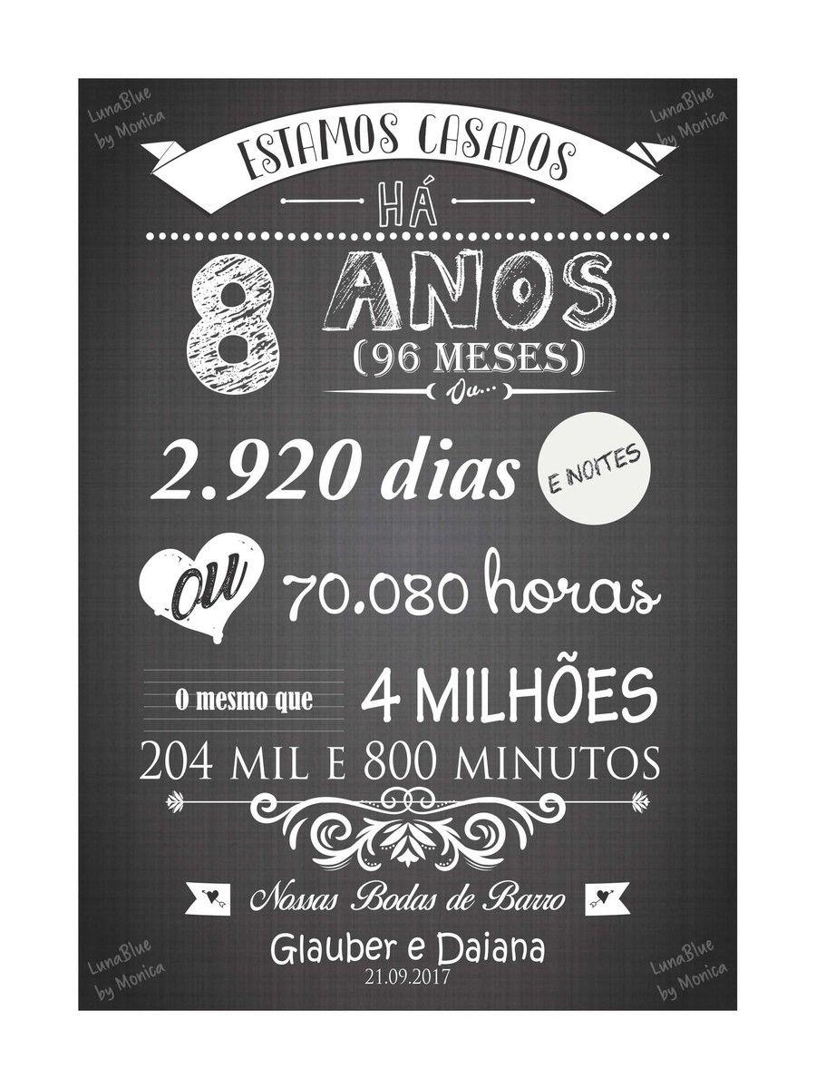 Chalkboard Bodas De Barro Arte Digital Em 2020 Bodas De